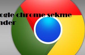 Google chrome sekme gönder