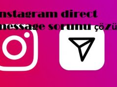 instagram direct message sorunu çözümü