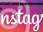 instagram minimum yaş