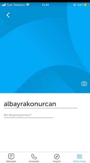 Bip profil güncellenmiyor