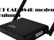 CNET CAR-984R modem kurulumu