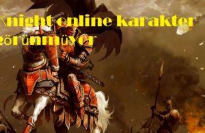 Knight online karakter görünmüyor