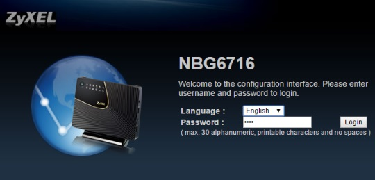 NBG6716 kablosuz