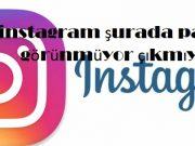instagram şurada paylaş görünmüyor çıkmıyor