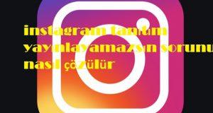 instagram tanıtım yayınlayamazsın sorunu nasıl çözülür