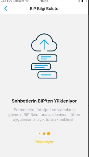 BiP WEB bağlanma