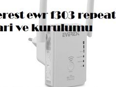 Everest ewr f303 repeater ayari ve kurulumu