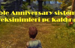 Fable Anniversary sistem gereksinimleri pc kaldırır mı
