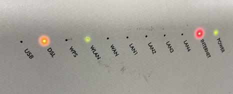 Modem internet ışığı yanmıyor yeşil değil
