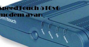 SpeedTouch 510v6 modem ayarı