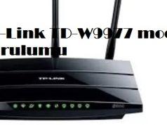 TP-Link TD-W9977 modem kurulumu