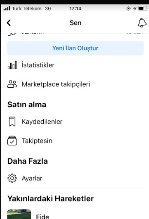 Facebook Marketplace takipçiler