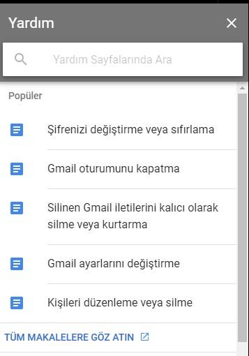 Gmail mail adresi