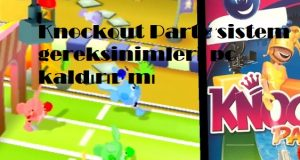 Knockout Party sistem gereksinimleri pc kaldırır mı