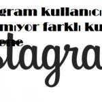 instagram kullanıcı adı alınamıyor farklı kullanıcı adı dene