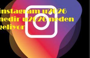 instagram u2026 nedir u2026 neden geliyor