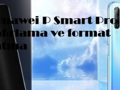 Huawei P Smart Pro sıfırlama ve format atma