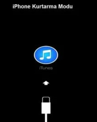 iPhone kurtarma moduna girmiyor ve alamıyorum
