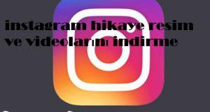 instagram hikaye resim ve videolarını indirme