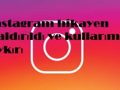 instagram hikayen kaldırıldı ve kullarımıza aykırı