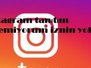 instagram tanıtım veremiyorum iznin yok