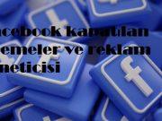 Facebook kapatılan ödemeler ve reklam yöneticisi