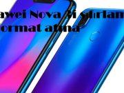 Huawei Nova 3i sıfırlama ve format atma