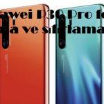Huawei P30 Pro format atma ve sıfırlama