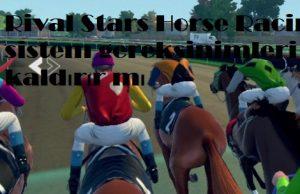 Rival Stars Horse Racing sistem gereksinimleri pc kaldırır mı