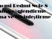 Xiaomi Redmi Note 8 arama yönlendirme açma ve etkinleştirme