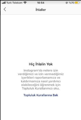 instagram ihlaller