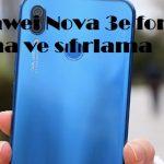 Huawei Nova 3e format atma ve sıfırlama