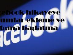 Facebook hikayeye yorumlar ekleme ve tartışma başlatma
