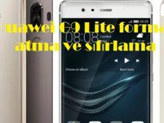 Huawei G9 Lite format atma ve sıfırlama