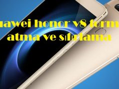 Huawei honor v8 format atma ve sıfırlama