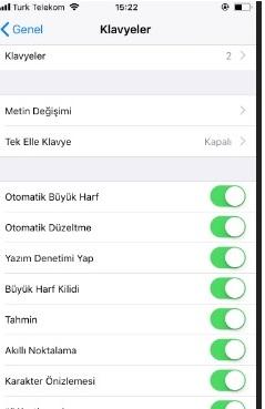 Android yazı tipi ayarlama