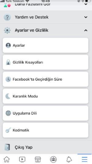 Facebook dışı önizlemeleri açma