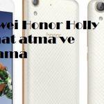 Huawei Honor Holly format atma ve sıfırlama