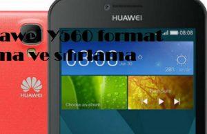 Huawei Y560 format atma ve sıfırlama