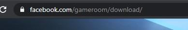 Facebook Gameroom yükleyemiyorum