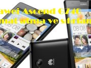 Huawei Ascend G740 format atma ve sıfırlama