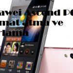Huawei Ascend P6 format atma ve sıfırlama