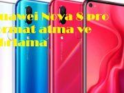 Huawei Nova 8 pro format atma ve sıfırlama