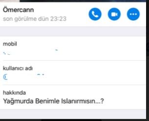 Telegram kişi engelleme