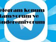 Telegram konum atamıyorum ve gönderemiyorum