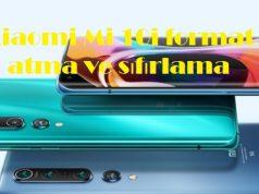 Xiaomi Mi 10i format atma ve sıfırlama