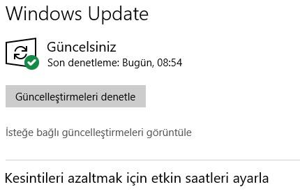 Windows 10 dosyayı bulamıyor