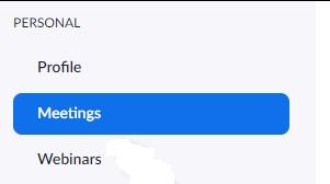 ZOOM anket oluşturamıyorum