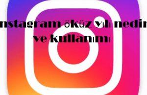instagram öküz yılı nedir ve kullanımı