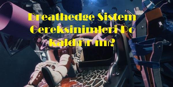 Breathedge Sistem Gereksinimleri Pc kaldırır mı